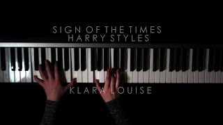 SIGN OF THE TIMES | Harry Styles Piano Cover