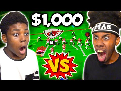 My Brother Played Against Me In Madden 22.. Winner Gets $1000! |
