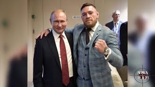 Conor McGregor meets Russian President Vladimir Putin at World Cup Final 2018