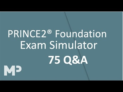 PRINCE2 Foundation Exam Simulator 75 Q&A
