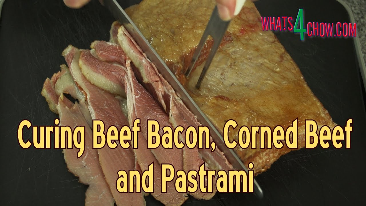 How To Make Beef Bacon  Kosher Beef Bacon, Corned Beef & Pastrami