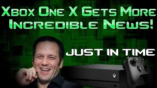 Xbox One X Gets New & Even More Incredible News! And Just In Time!