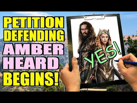 Amber Heard Support Petition Gets it ALL WRONG! - YouTube
