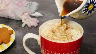 You Need To Try This - Gingerbread Hot Chocolate!