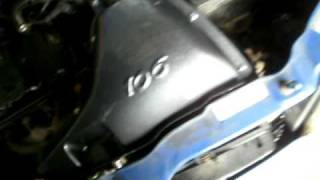 PUG 106 Rallye 8v- Cold Air Intake Sound