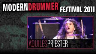 Modern Drummer Festival 2011: Aquiles Priester