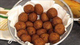 How to Make Plantain Balls | Plantain Recipe | yummieliciouz food recipes