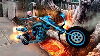 Ghost Ride 3D - Gameplay Android game - bike games