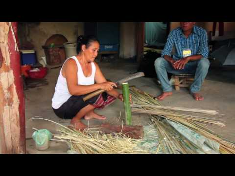 Living Out Lao Culture Through Handicrafts
