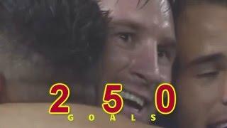 «Лионель Месси & 250 голов!»