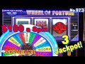 Double Top Dollar Double Diamond👑$100 Slot Machine Wheel of Fortune Red White Blue Jackpot 赤富士スロット