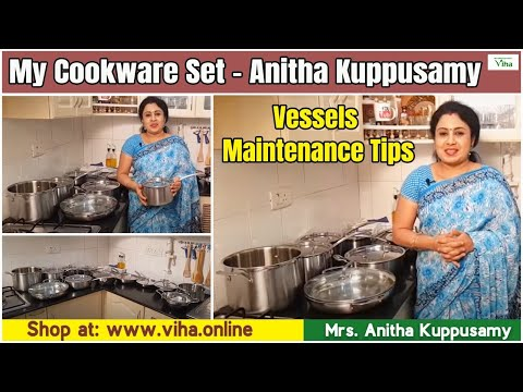 kitchen vessels set light bulbs my cookware how to maintain anitha kuppusamy