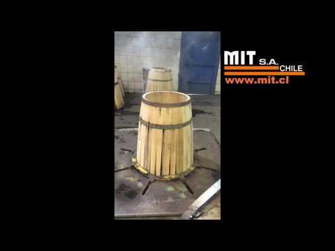 MIT HBB Barrel Bending Machine