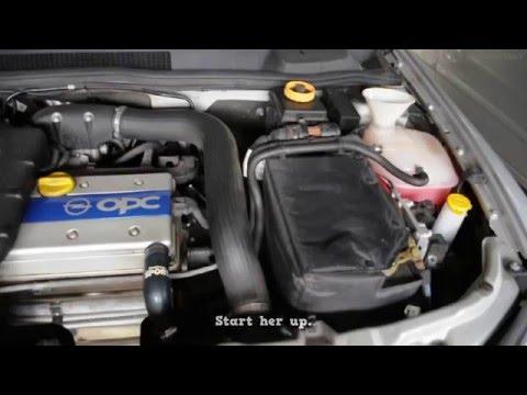 Обслуживание системы охлаждения Opel Astra
