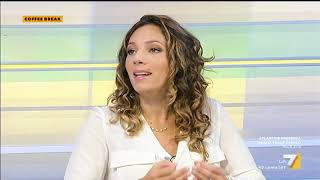 Vittoria Baldino (M5S) ospite a Coffee Break La7 11/09/2019