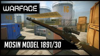 Warface Mosin Model 1891/30