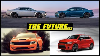 Future of the Dodge Charger and Challenger + New Muscle SUV Coming? -- (2023 Next Generation)