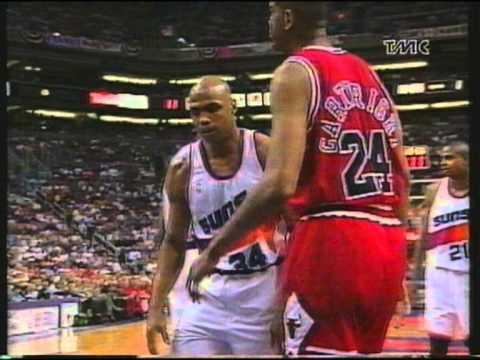 Phoenix Suns VS Chicago Bulls - Nba Finals 1993 G6 - 1/8 (ITA) - YouTube