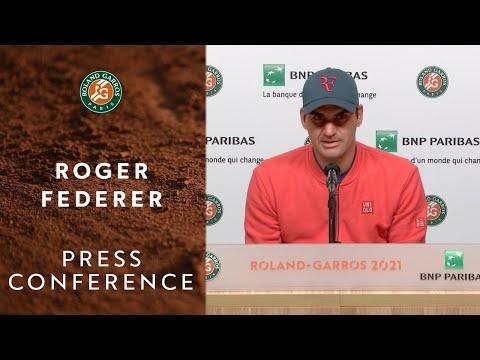 Roger Federer Press Conference after Round 3 I Roland-Garros