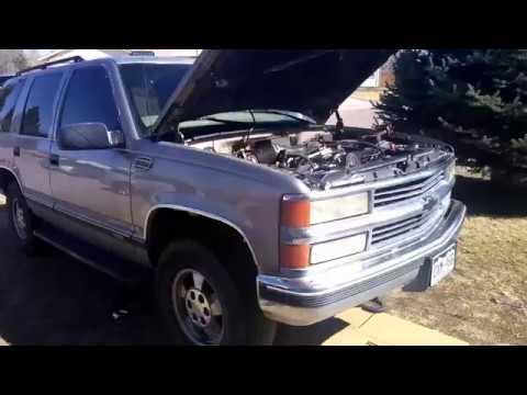 1999 Chevrolet Tahoe Oil Cooler Line Leak Fix!