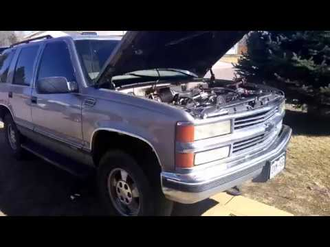 2008 chevy tahoe transmission cooler