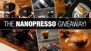 NANOPRESSO Portable Espresso Machine - BIG Giveaway!