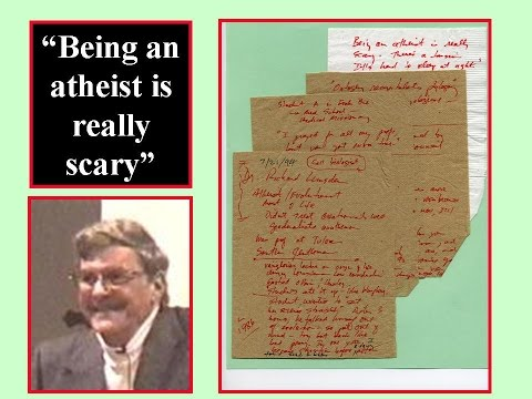 NOW I KNOW WHERE I AM FROM ...BEING AN ATHEIST WAS REALLY SCARY