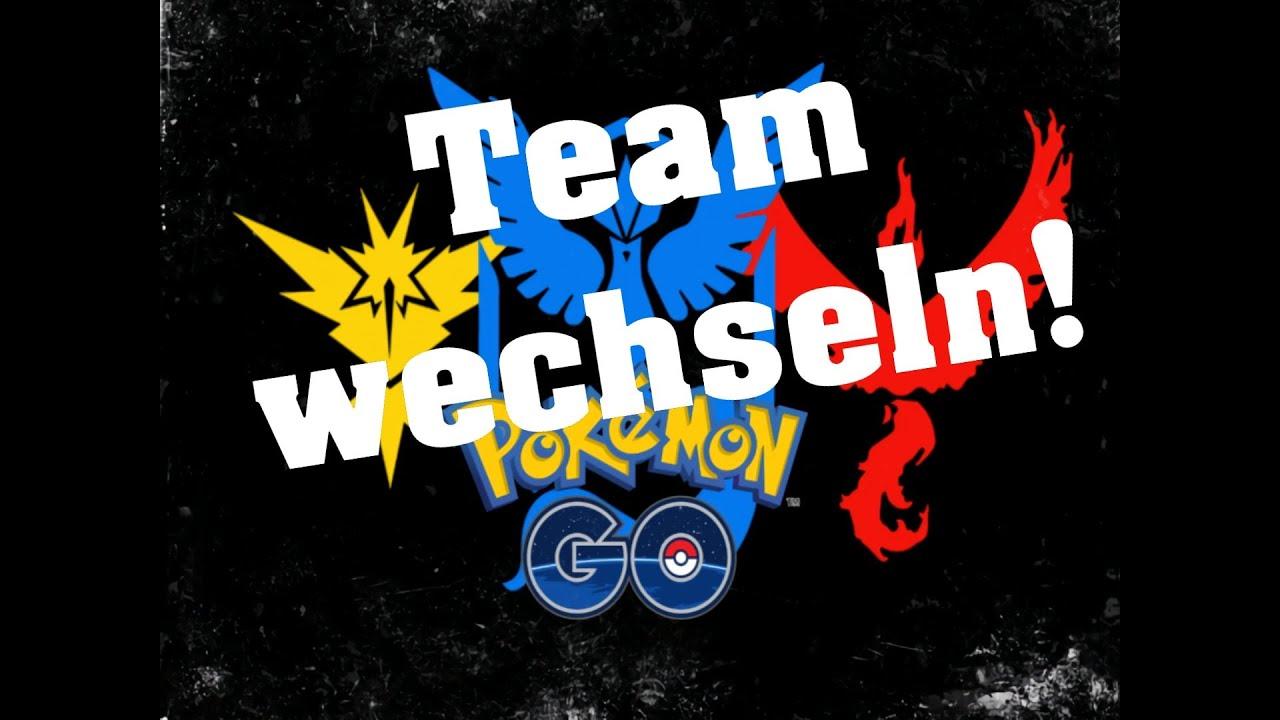 Pokemon Go Team Wechseln 2021