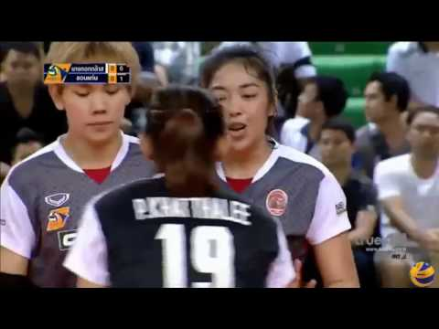 Bangkok Glass vs Khonkaenstar VC | 08 Jan 2017 | Volleyball Women Thailand League 2016/2017