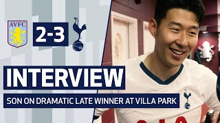 INTERVIEW | HEUNG-MIN SON ON 'FANTASTIC' WIN OVER ASTON VILLA