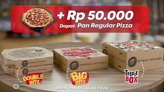 Tambah Rp.50.000 dapat 1 pizza lagi...