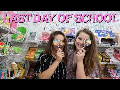 LAST DAY OF SCHOOL FINALLY! THE GIRLS JUST CAN'T QUIT CAUSING SCHOOL DRAMA! | EMMA AND ELLIE