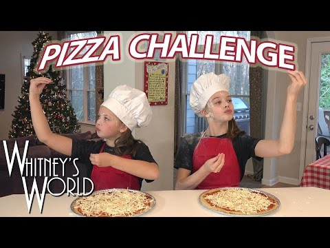 Pizza Challenge | Whitney and Blakely