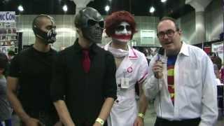 Clark Kent Interviews Gotham City Villains