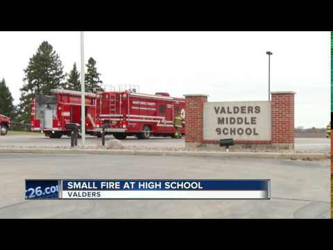 Small fire at Valders High School
