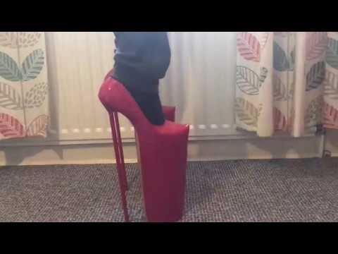 16 inch Lady Gaga type mega heels