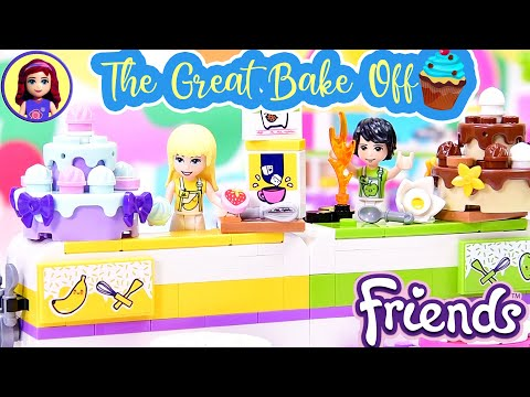 Lego Friends Baking Competition Build