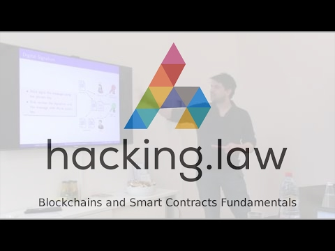 Blockchains and Smart Contracts Fundamentals