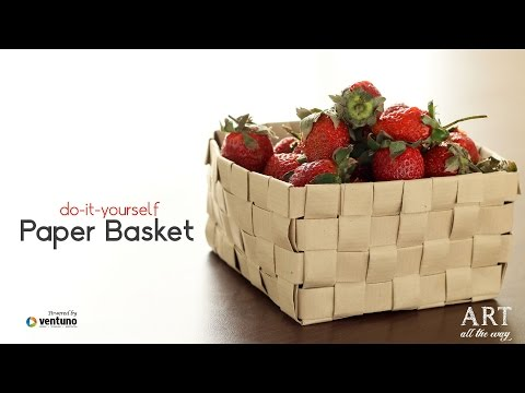 How to make DIY : Fruit Bowl from Paper