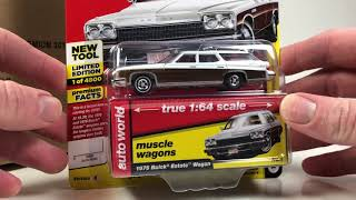 Auto World 2018 Premium Release 4 Version B Unboxing
