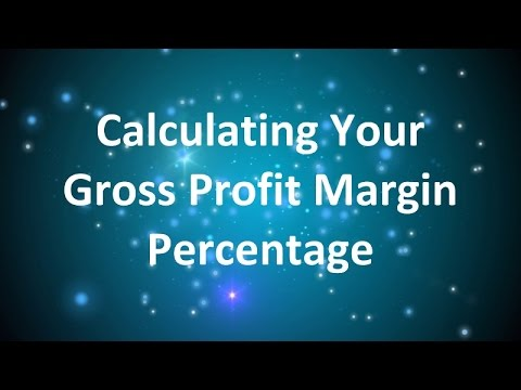 How to Calculate Your Gross Profit Margin Percentage