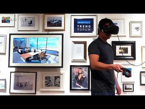 VR Showroom in Modernform Trend Forum 2018