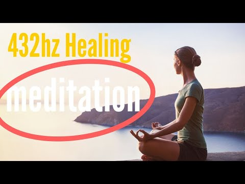 432hz Guided Meditation With Music And Energy Healing Music