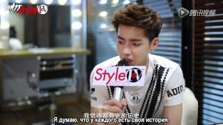 150611 NewStyleTV Interview with Wu Yifan (рус.саб)