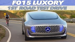 Mercedes-Benz F 015 Luxury in Motion | FIRST TEST DRIVE