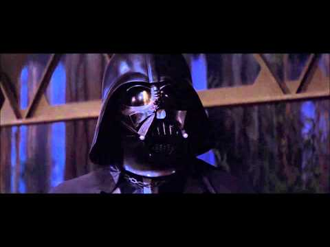 Luke Skywalker Surrenders to Darth Vader - HD1080p - Star Wars Episode VI Return of The Jedi