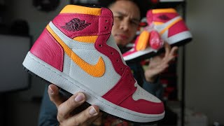 Air Jordan 1 Light Fusion Red Review: These Are Butter!