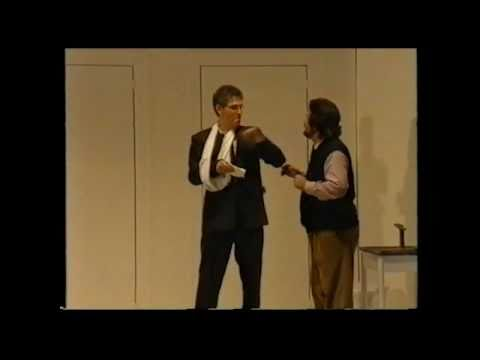 Die Meistersinger von Nürnberg - Scene Sachs - Beckmesser 3. act Oskar Hillebrandt - Michael Kraus