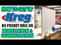 How To Set Up and Use The Kreg K5 Pocket Hole Jig