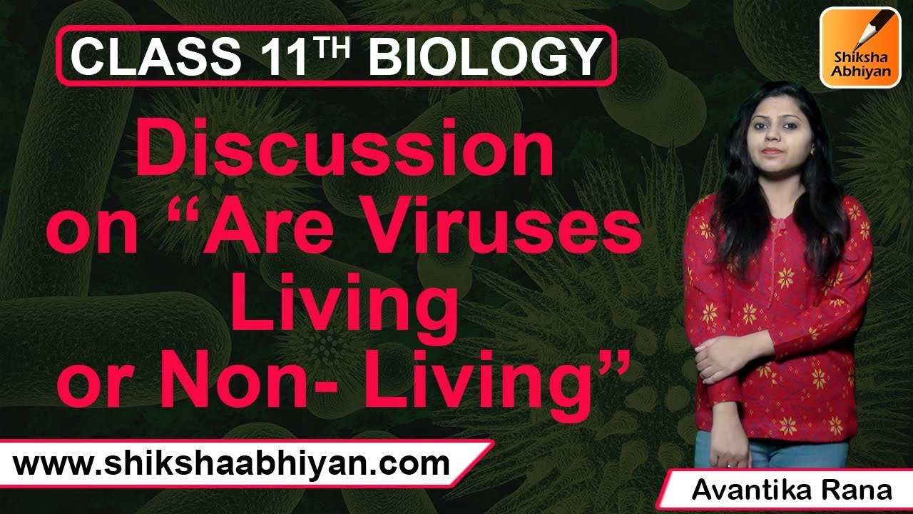 are viruses living or nonliving